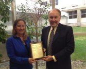 Raritan Valley Community College (RVCC) in Branchburg graduate Jo-Ann M. Petruzziello is the recipient of the Baker & Rannells Paralegal Studies Student Graduate Award.